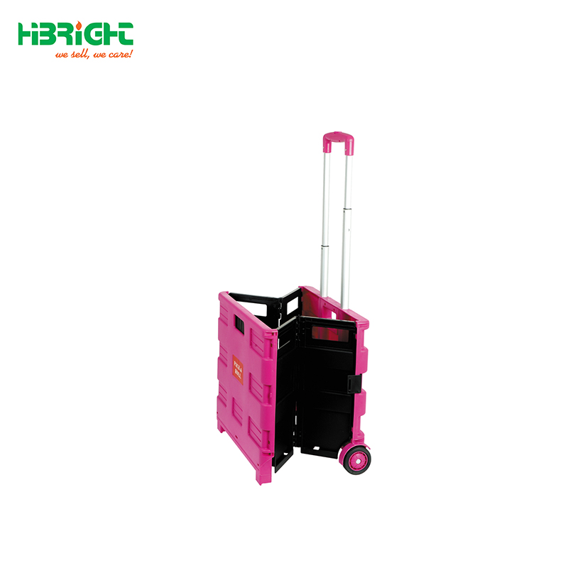 Foldable Boot shopping Cart /Trolley/ Crate Shopping Trolley on Wheels (35KG CAPACITY)