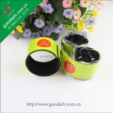 Hot sales reflective slap band for promotion item