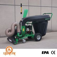 Factory Supplied Manual Petrol Garden 50Mm Leaf Vacuum Shredder Chipper