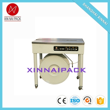High quality new products powered semi automatic strapping machine