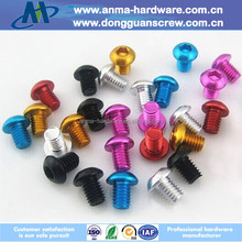 China manufacturer high quality Aluminum hex drive cap socket screw