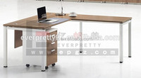High quality steel frame office computer rectangular office desk