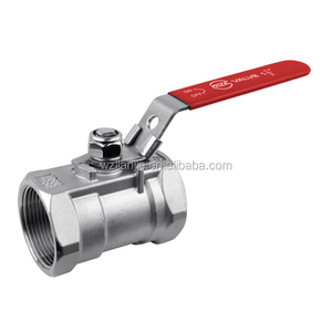 "1-1/2"" 1 PC Female BSPT Stainless Steel Ball Valve with Handles"