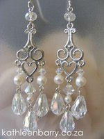 Kelly Chandelier Earrings wedding bridal jewellery