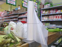 can custom printed plastic shopping bag on roll