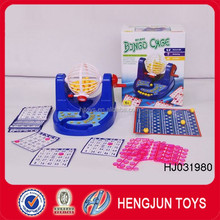 high quality plastic toys bingo game trading card games for kid