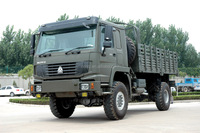 HOWO cargo truck 4x4 Military Vehicle