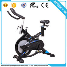 Fitness Gym Exercise Bike Spin Bicycle Cycle Trainer Cardio Workout Indoor Home Spinning Bike with foam handlebar