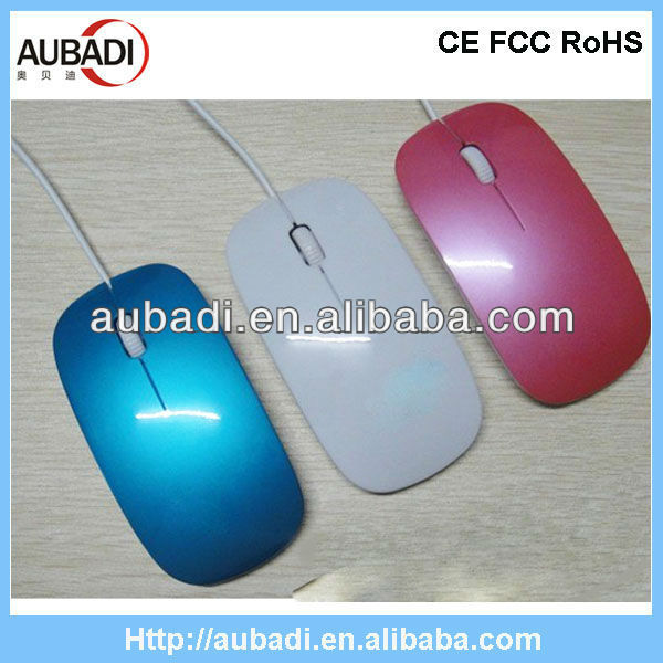 Full Color Slim Wired Web Key Mouse
