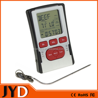 JYD-DTK13 2015 New Cheap Digital Meat Thermometer, Food Thermometer, Cooking Thermometer