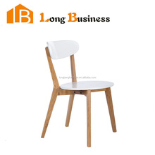 LB-AL5407 Northern Europe new style white lacquer dining chair, wholesale dining chair