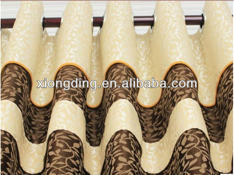 Fashion luxury hotel curtains wholesale and manufacture