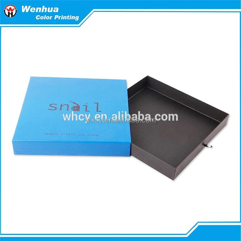 Electronic cigarette paper counter display box