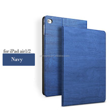 for iPad Air1/2 Flip Bracket Leather Case Tree Texture Series PU Leather case