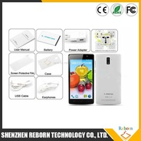 High quality cheap white color dual camera MTK6582W cell phone with flash light