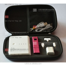 handy travel protective EVA hard display usb flash drive sample carry case