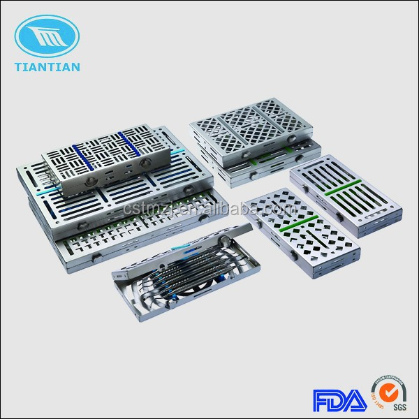 High quality stainless steel dental orthodontic instrument management cassette