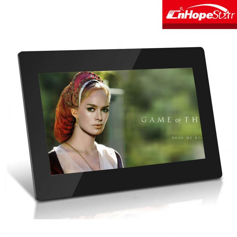 2016 hot sale high quality 10.1 inch android wifi digital signage picture frame digital photo frame