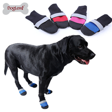 Factory DOG BOOTS Air Mesh Breathable Protetive Reflecting Anti Slip Sole Pet Boots