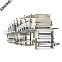 HERO BRAND High Speed Wallpaper PET PVC BOPP Hot Melt Self Adhesive Tape Paper Coating Machine