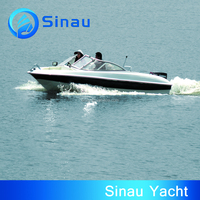 5.5m 16ft high speed fishing boat leisure boat racing boat