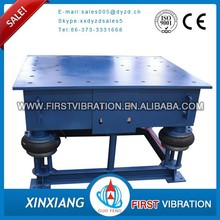 single dimensional electric mold vibrating table for construction and concrete moulds
