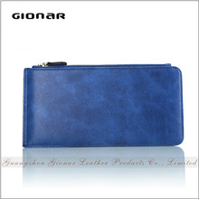 Latest Design High Quality Leather Wallet Case Wrist Slim Wallet