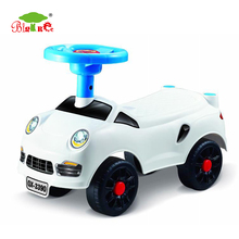 China custom children swing car ride on car PP Plastic kids twist toy car to drive