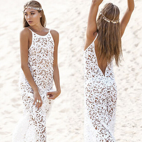 a2cd6c7f8d6e5 Fashion Women Bathing Suit Beach Cover-Ups Sexy Lace Crochet Swimwear Bikini  set Tops Beach