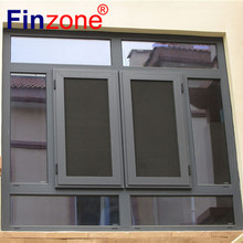 Top quality useful aluminum swing out tilt and turn window