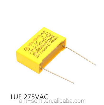 1uf / 275V Safety capacitor 105K pitch 22mm