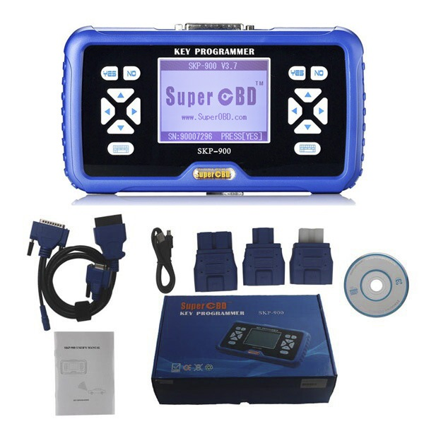 2016 SuperOBD SKP-900 Key Programmer for Hand-Hold OBD2 Auto Programmer