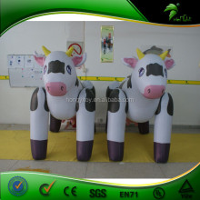 Inflatable milk cow/inflatable animal toy / cheap inflatable plastic animal advertising balloon