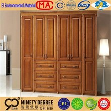 Fire-retardant space saving wall bed murphy bed modern bedroom furniture of wooden wardrobe