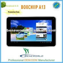 Fewer 5 inch android tablet pc with A13+camera+wifi