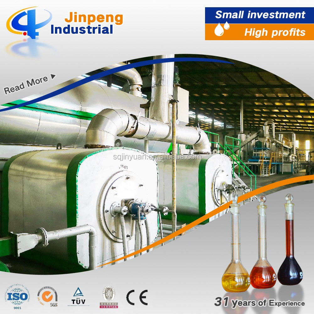 Profitable Project Waste Rubber Continuous Pyrolysis Machine