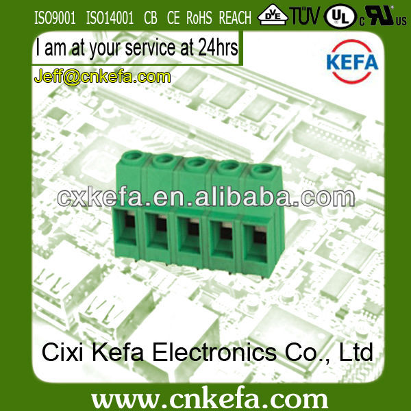 KF136HT-12.7mm electric motor terminal block with 300V/57A with UL,CE