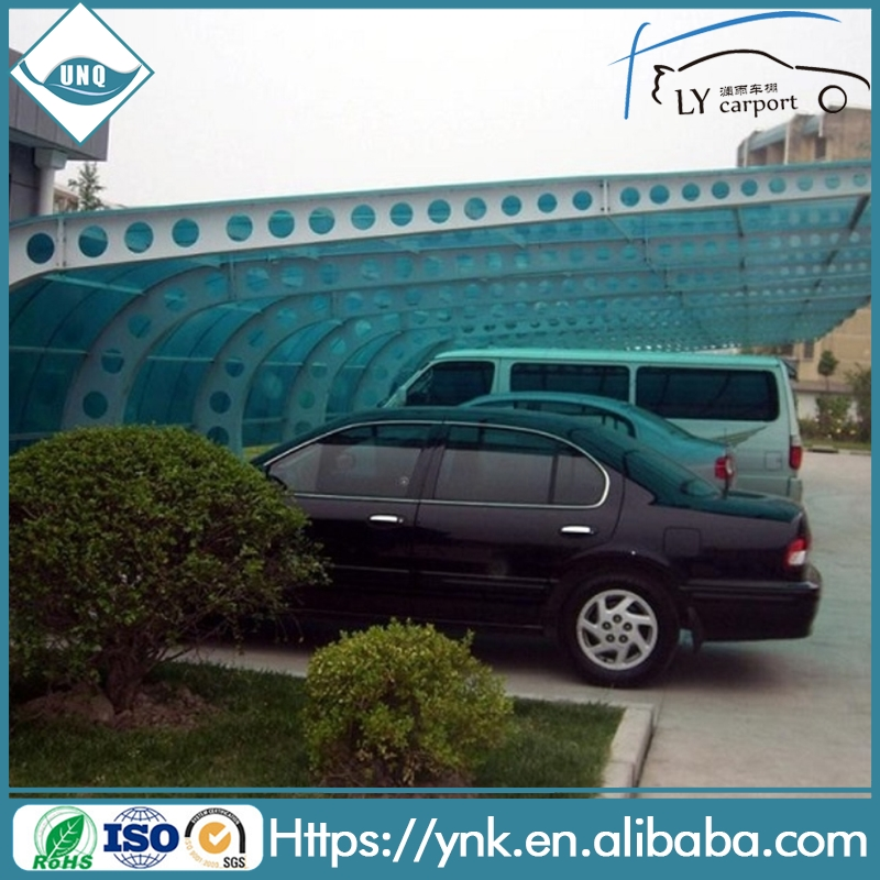 free sample 100% UV protect car parking awnings