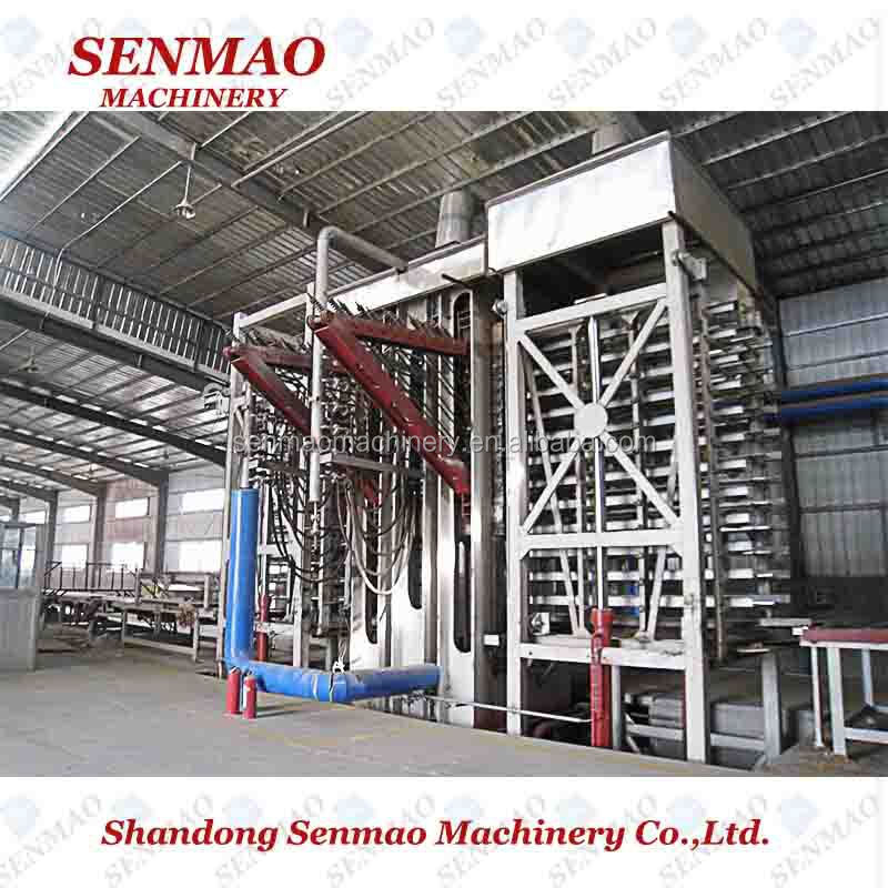 Production Of Chipboard including Melamine Laminated Flakeboard machine