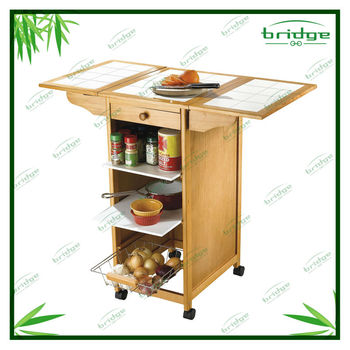Mdf small mobile home kitchen trolley design view small for Small kitchen trolley designs