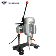 portable hand use multi function new type small manual glass drilling machine
