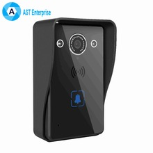 WIFI Wireless Video Doorbell With Smartphone APP For Android and IOS, Video Recording