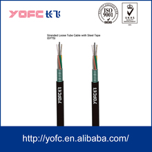 6 12 16 24 core optical fiber cable price GYTS