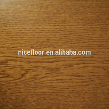 Three layer multilayer engineered solid wood flooring