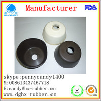 "Dongguan factory customed 4"" rubber end caps"