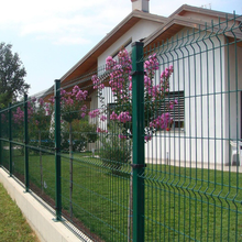 High Quality Outdoor Retractable Cyclone PVC Coated 3D Wire Mesh Fence/ Welded Garden Fence Panels Price Philippines