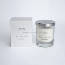 FUMARE SCENTED GLASS JAR CANDLE WITH METAL LID