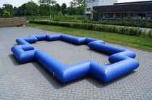 Portable 0.55mm PVC mini inflatable soccer field