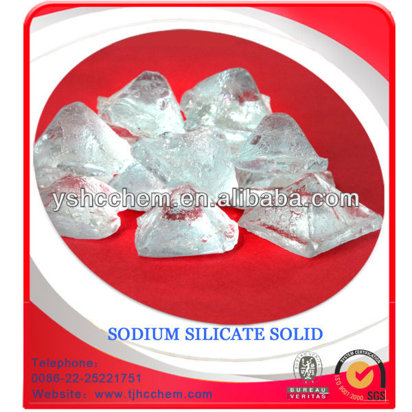 Sodium Silicate solid manufacturing process for detergent