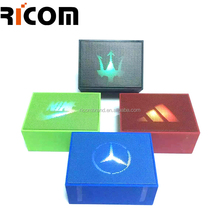 mini portable speaker amplifier music box Ricom Smart Life music angel mini speaker box BSP-206F music box speaker